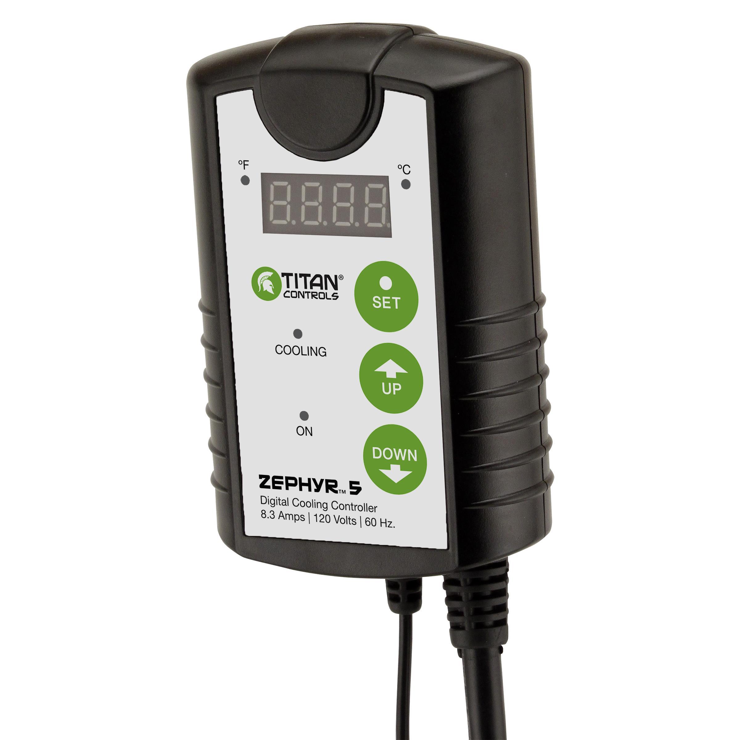 Titan Controls® Zephyr™ 5 - Digital Cooling Controller
