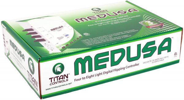 Titan Controls® Medusa™ Series - 4 to 8 Light Flipper/Controller